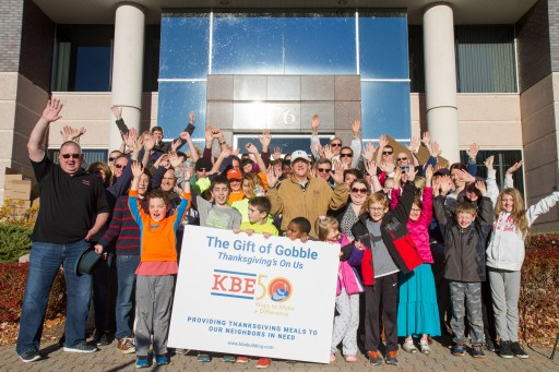 Classic Thanksgiving Dinner Given to 228 Local Families in Need, Courtesy of KBE Building Corp